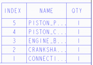 Creo Parametricのリピート領域で表示される文字数を制限する