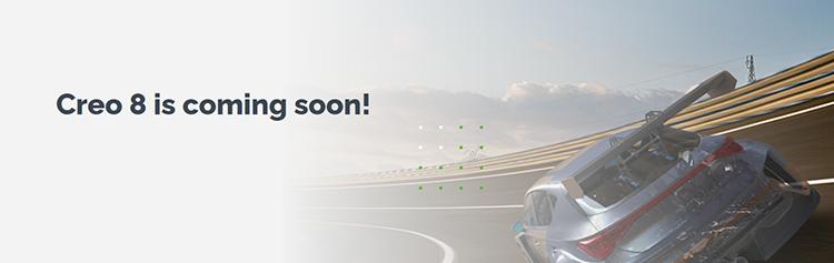PTC Creo 8.0 Coming soonページの画像